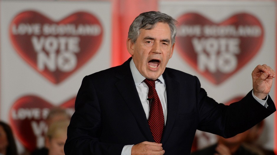 Gordon Brown is the MP for Kirkcaldy and Cowdenbeath.