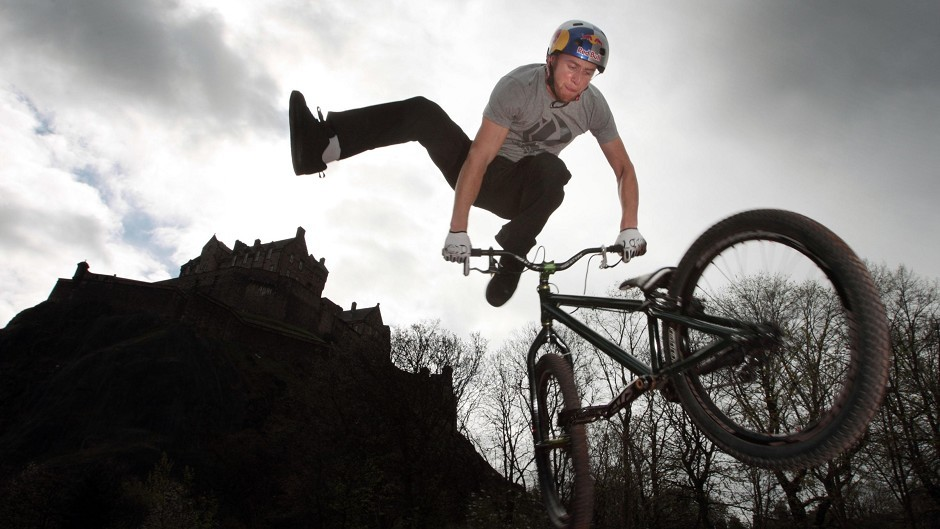 Stunt rider Danny MacAskill has had one of his cycles stolen