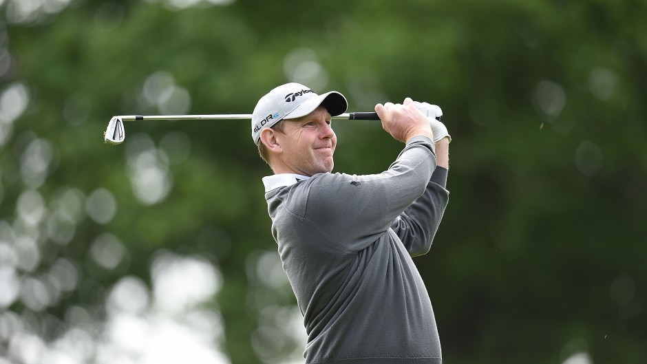 Stephen Gallacher: Tied 28th after the opening day's play.