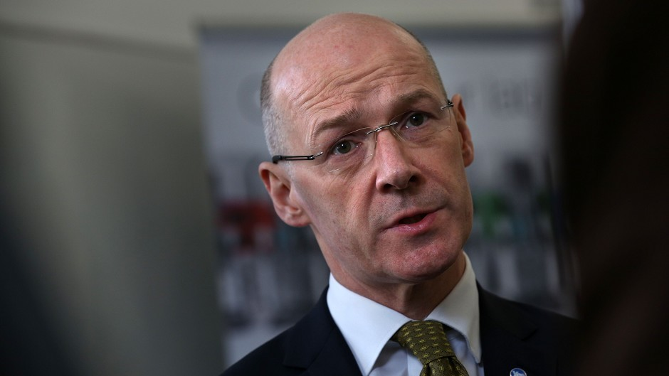 John Swinney will announce the first Scottish tax rates in more than 300 years.