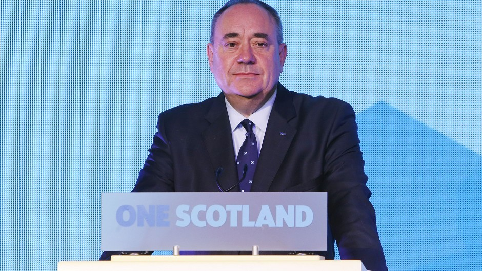 Alex Salmond is to stand down at SNP leader and first minister.