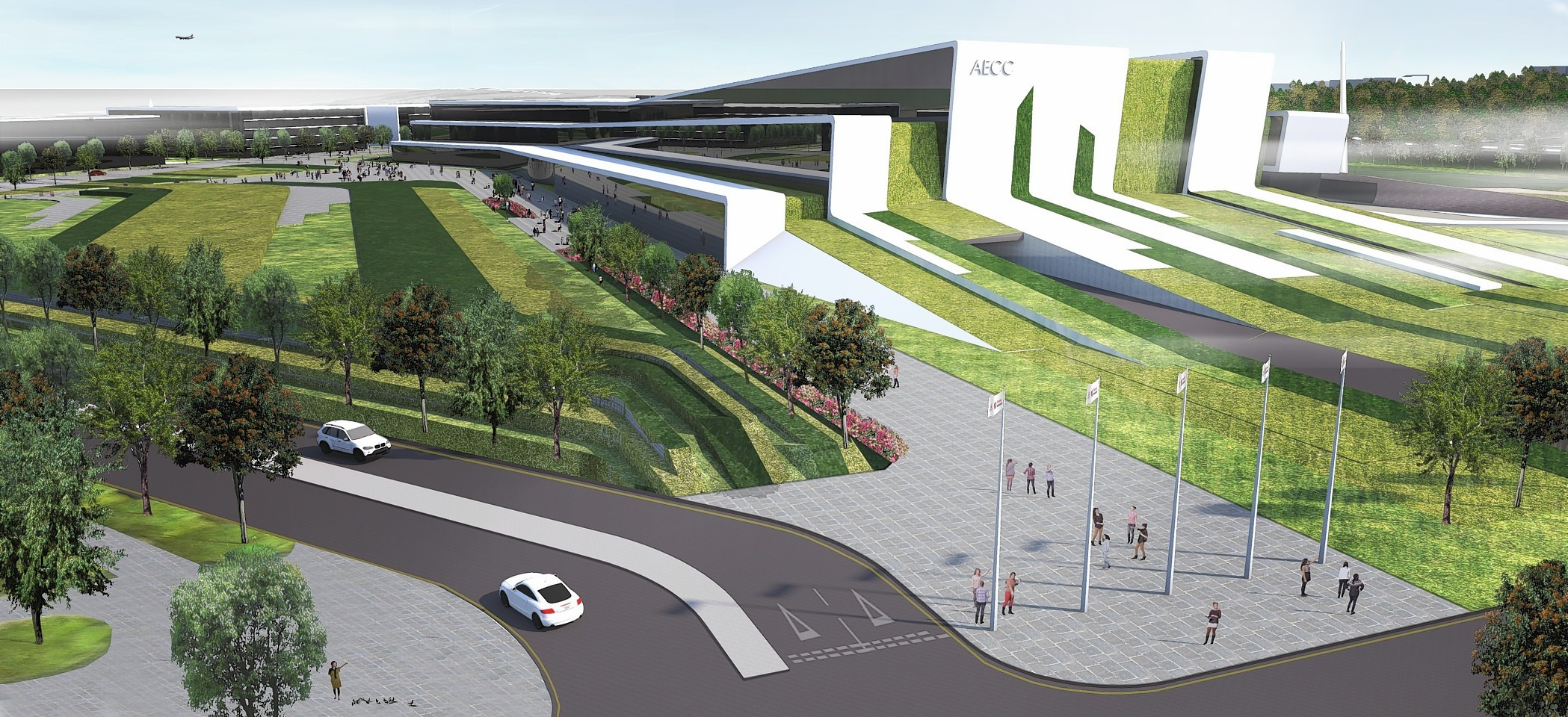 New artist impressions for the AECC