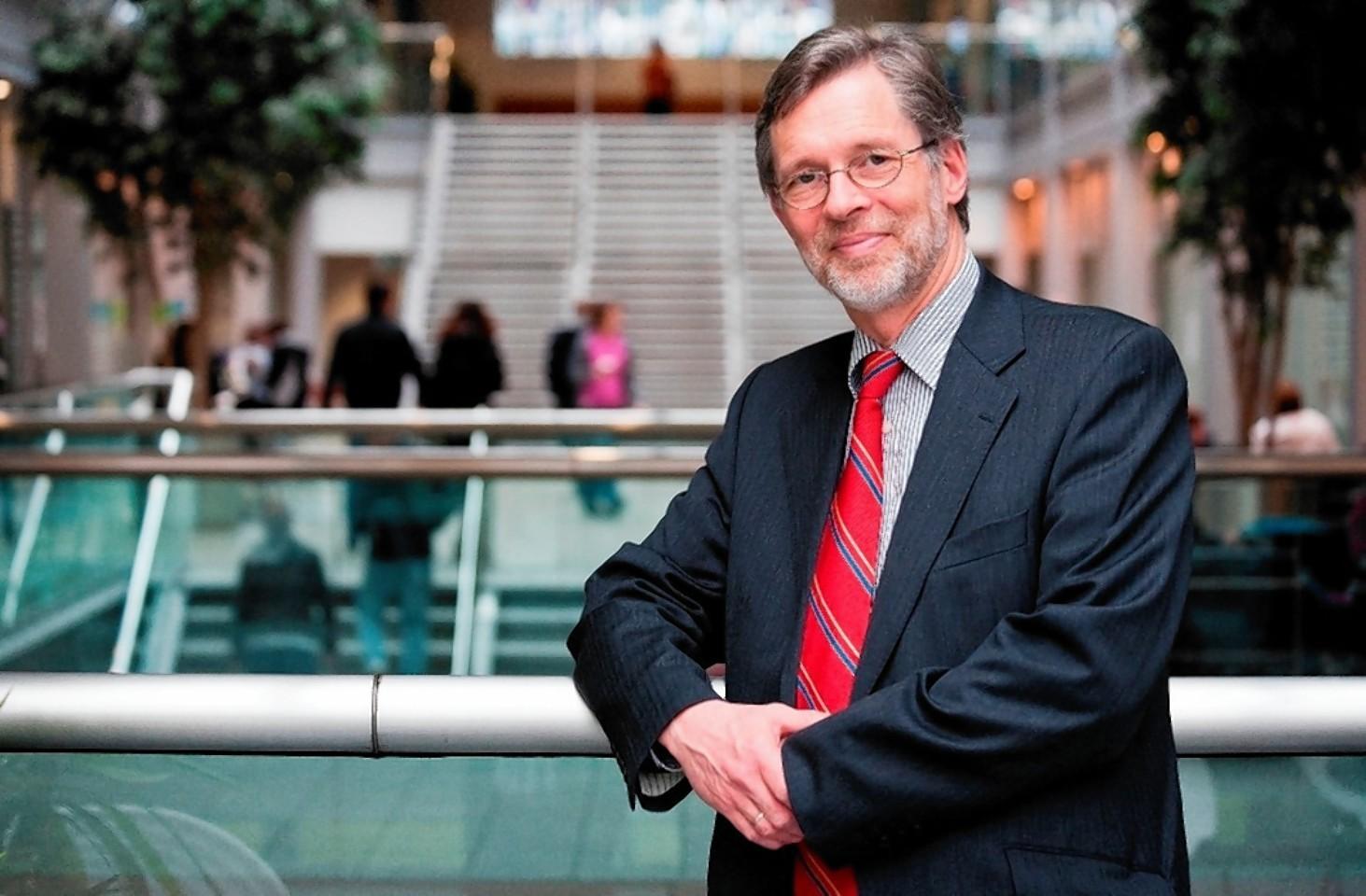 Professor Ferdinand von Prondzyknski, RGU principal