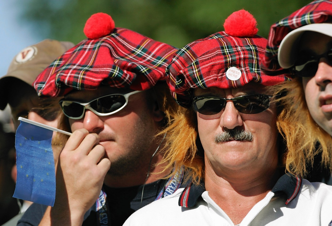 Scots enjoy the Ryder Cup in Florida, 2004