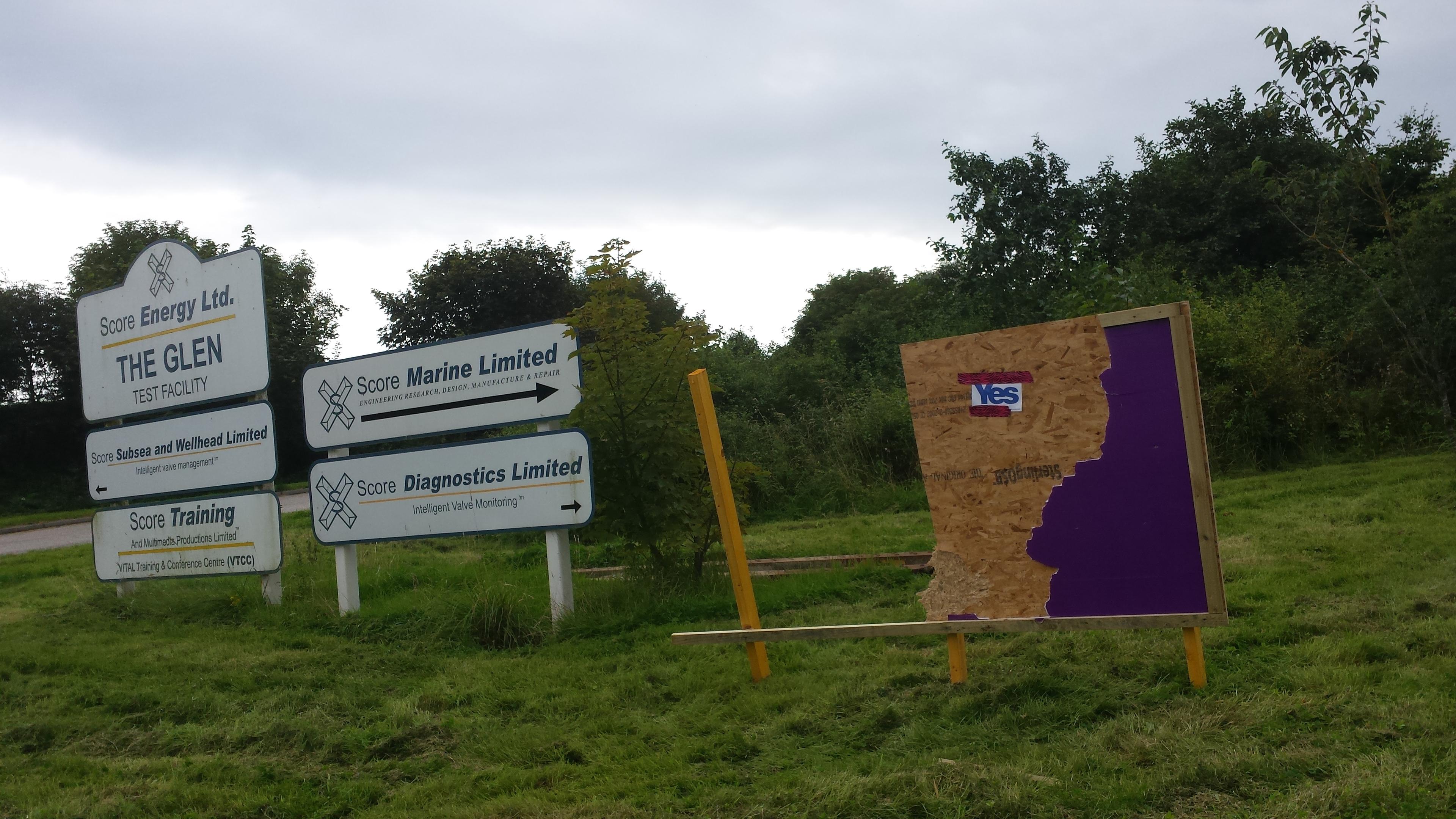 Score Group's Peterhead base