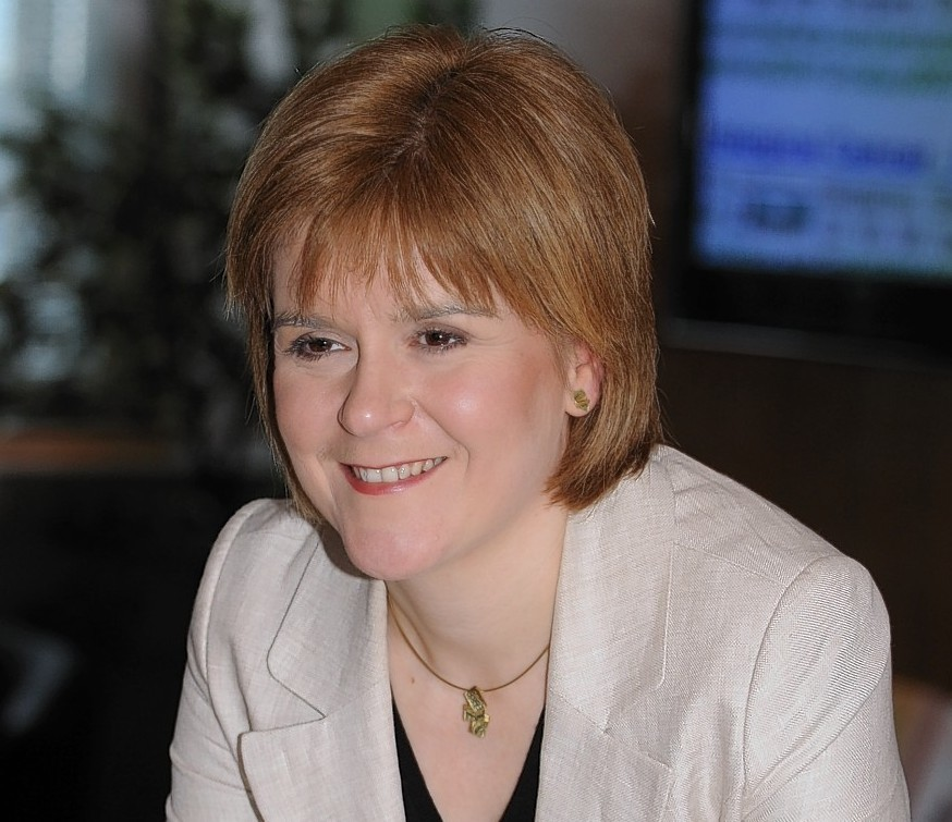 Sturgeon's political career started at a young age