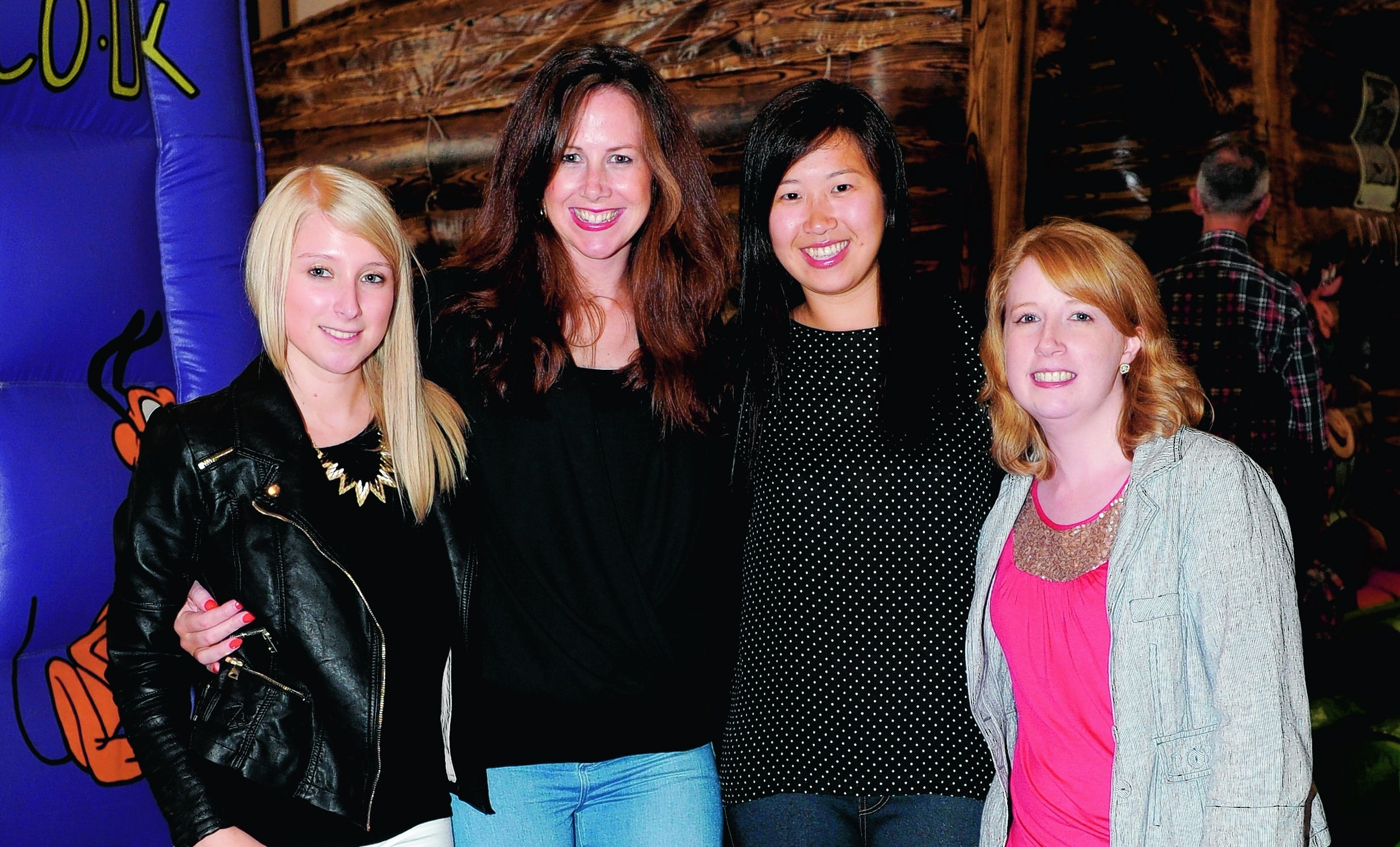 Steph Smith, Julie Farquhar, Sophie Ho and Aileen Law