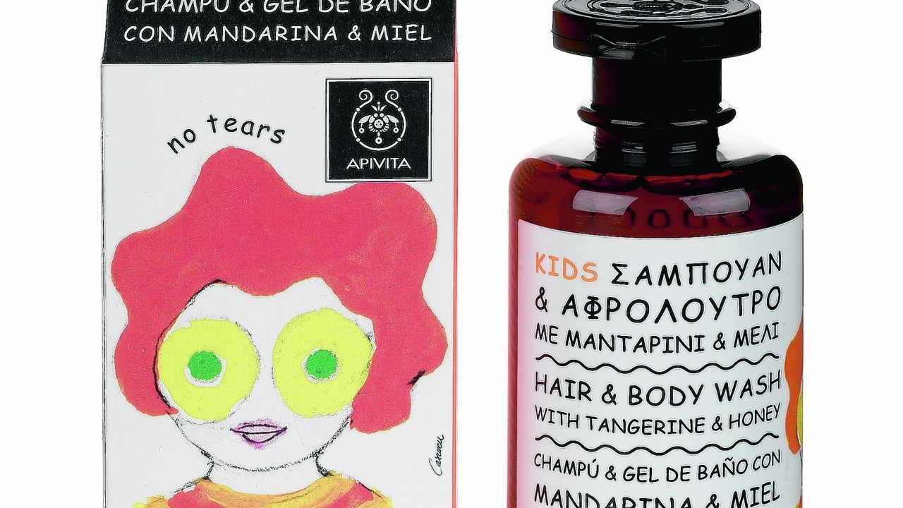 Apivita Kids Hair And Body Wash With Tangerine & Honey, £11.50, M&S (in store only)