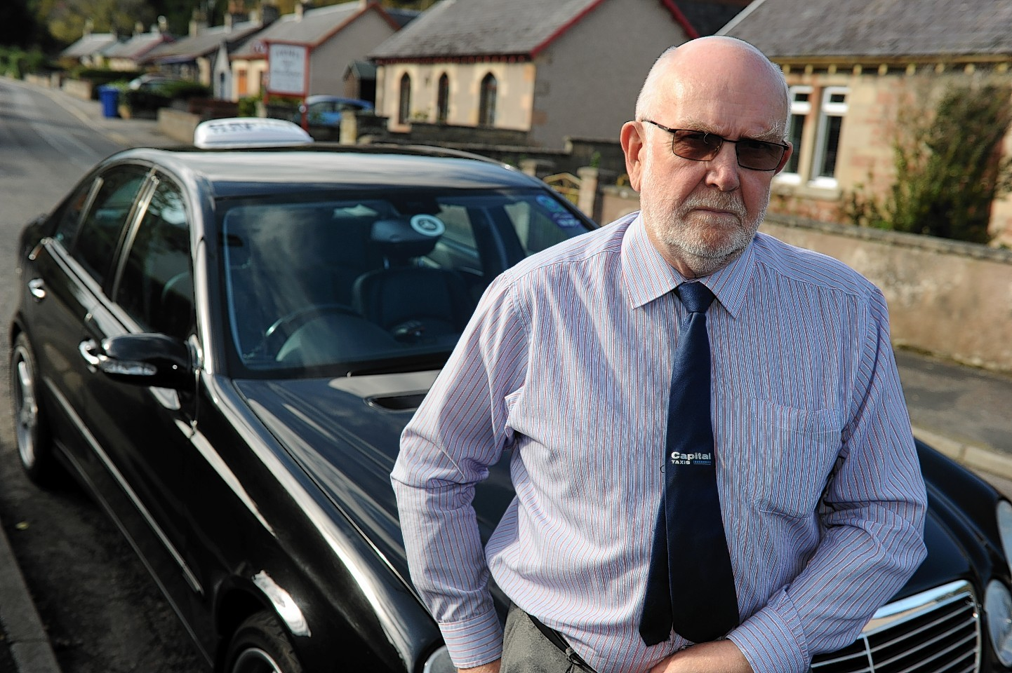 Andrew MacDonald, chairman of the Inverness Taxi Alliance