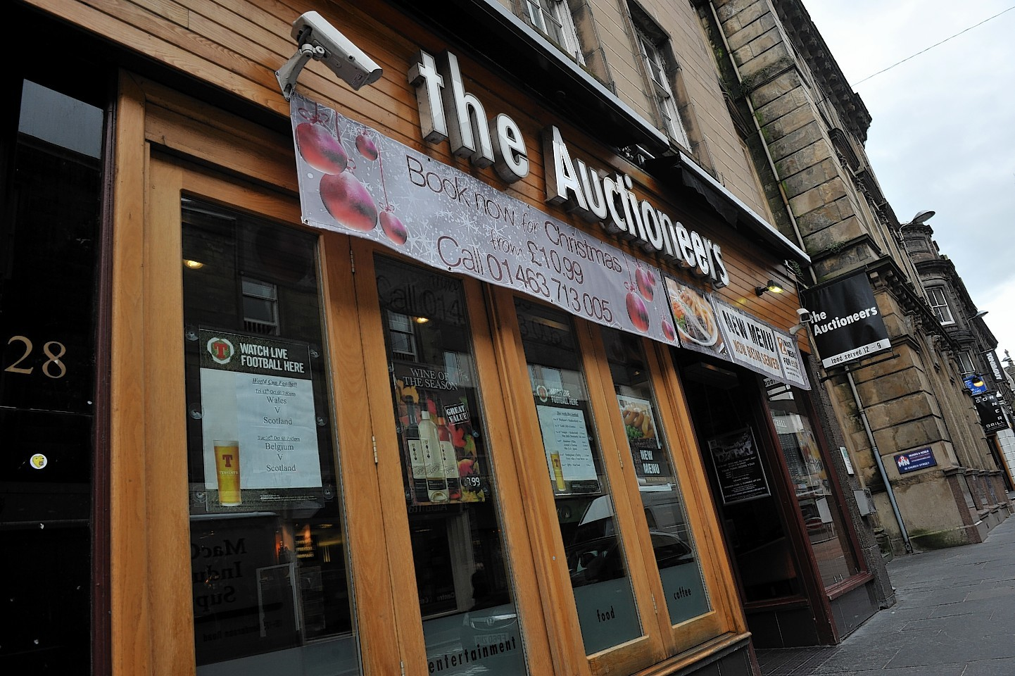 The Auctioneers in Inverness