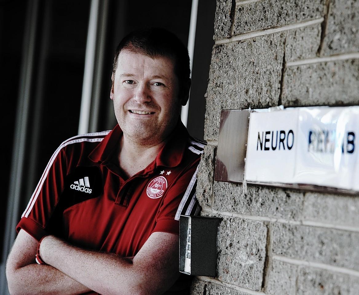Derek Ledingham is now fit to return to work