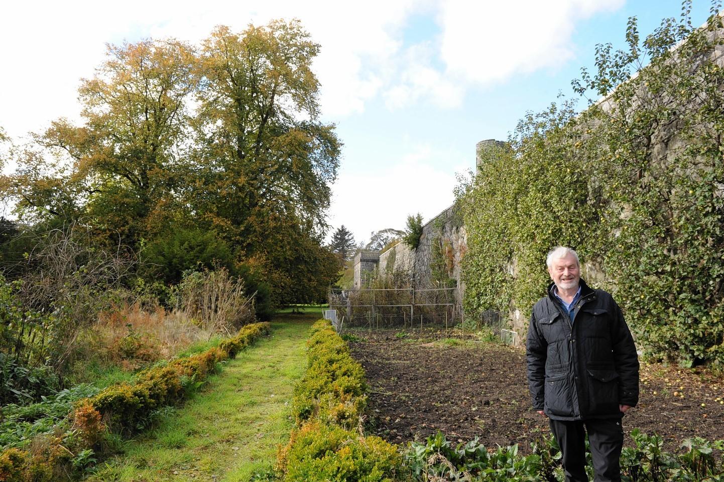 Alan Cameron, of Ellon Castle Gardens Trust