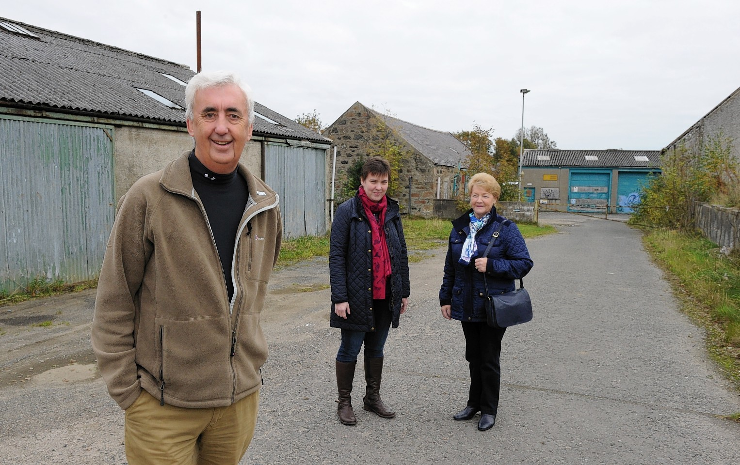 Insch Renewable Energy Consortium have received a £6million boost from the Scottish Government. The money will go towards the replacement of their World War I hospital.