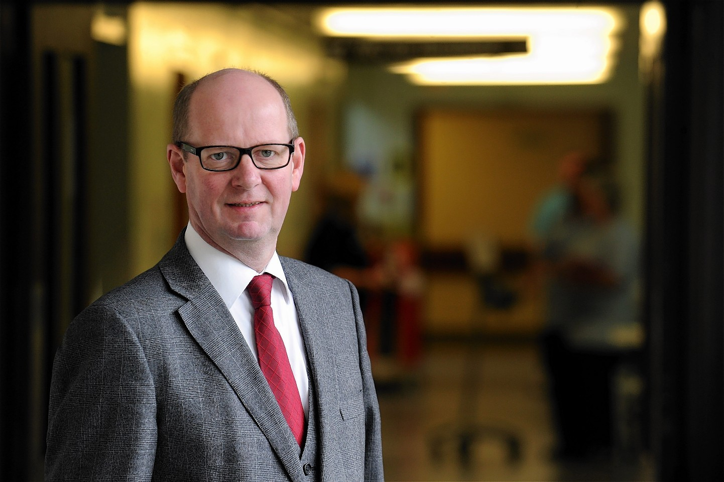 Garry Coutts, the former chairman of NHS Highland.