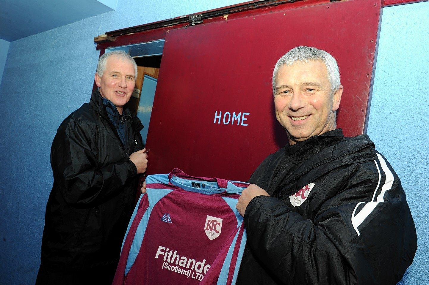New boss Gordon Winton takes charge at Kynoch Park tonight for the first time
