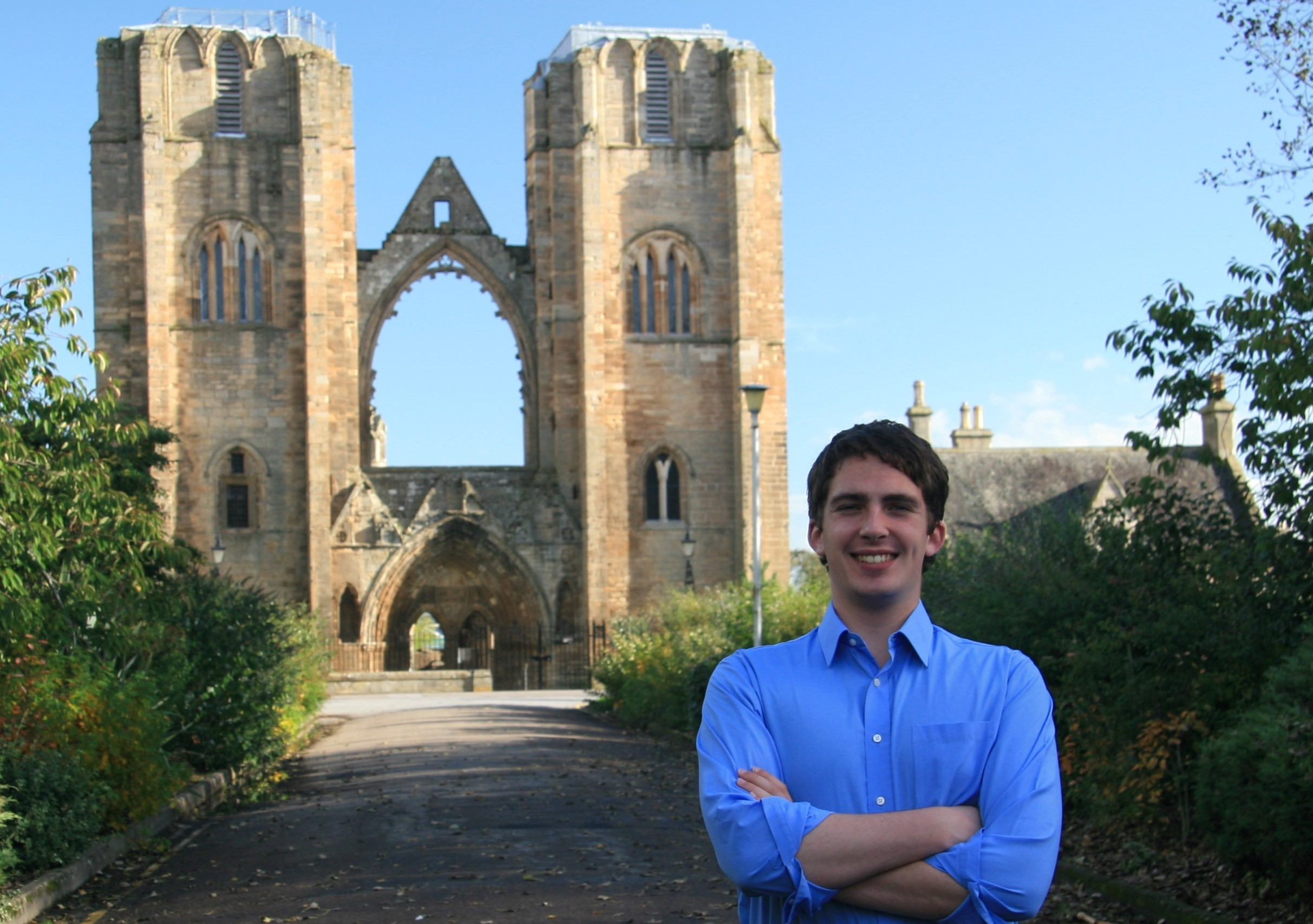 19-year-old Alex Griffiths could become one of the youngest councillors in Scotland
