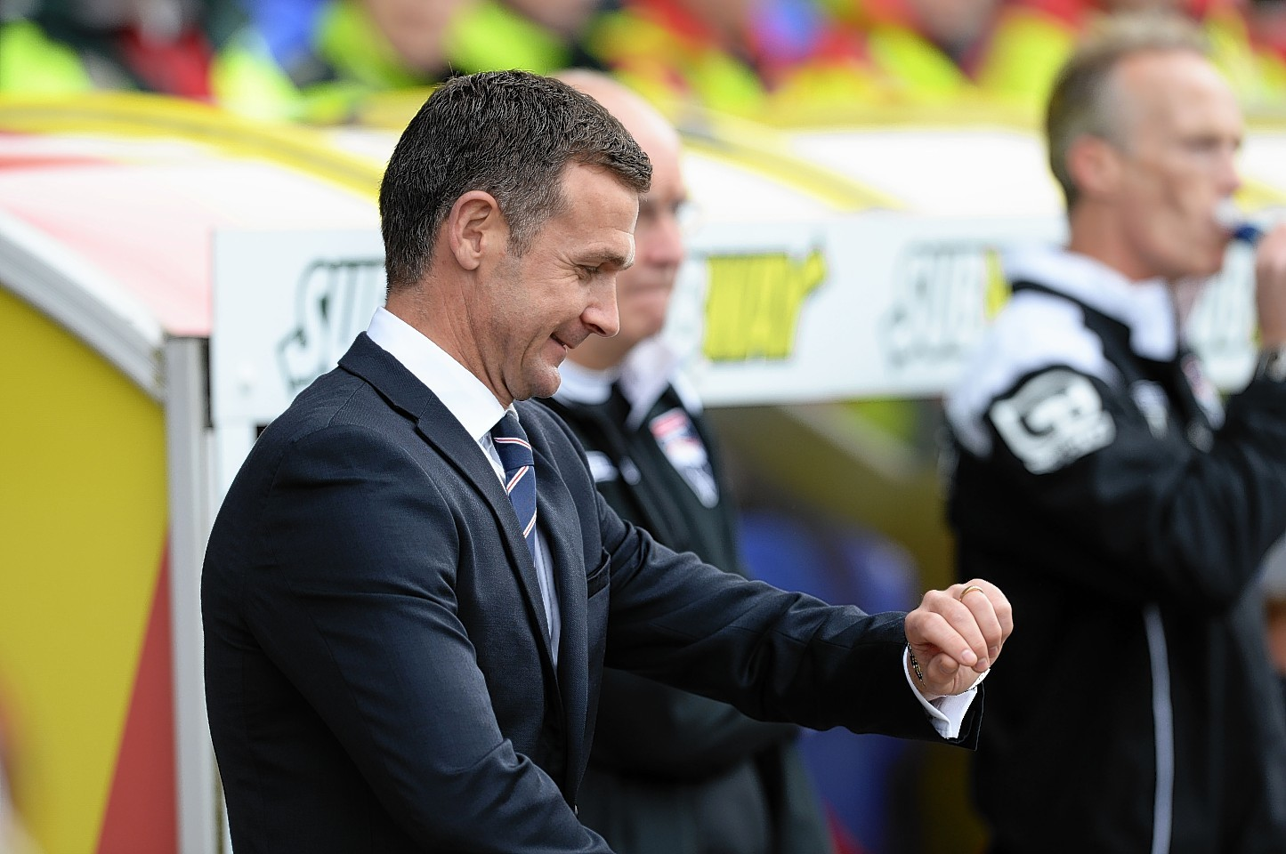 Jim McIntyre has made defender Jamie Reckord his fourth signing at Ross County.