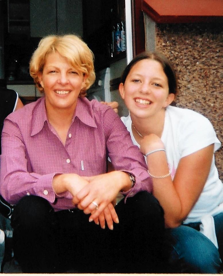 Karen and Michaela