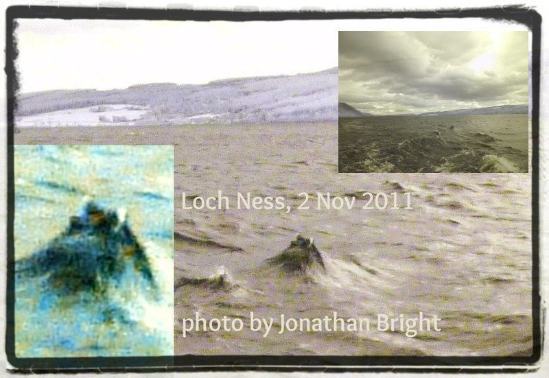 Jonathan Bright's pictures of 'Nessie'