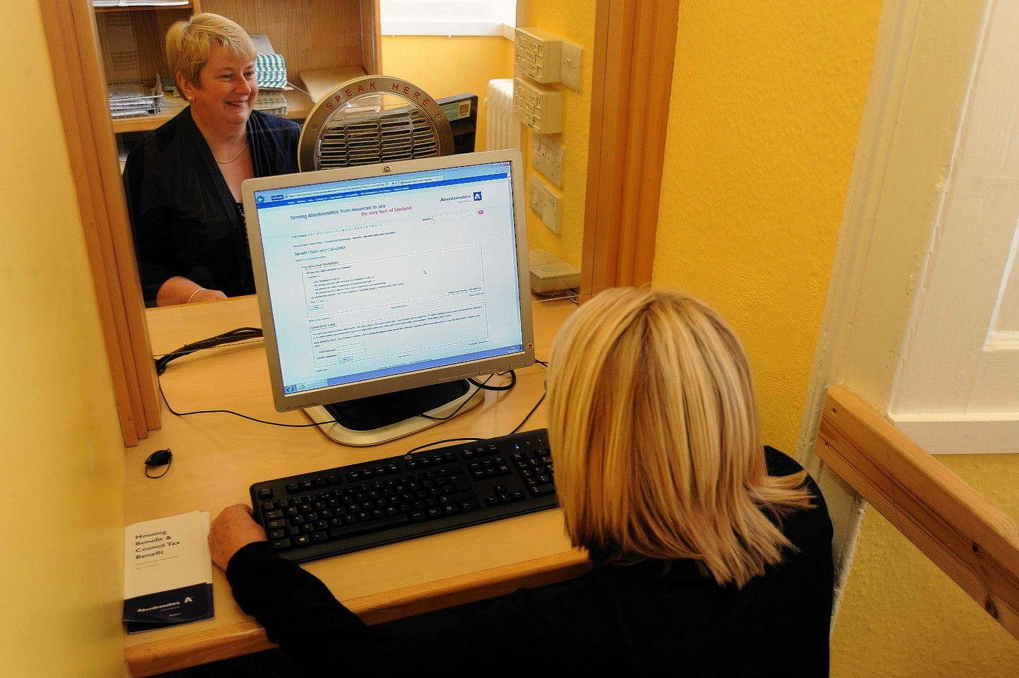 Online benefit scheme in Banff
