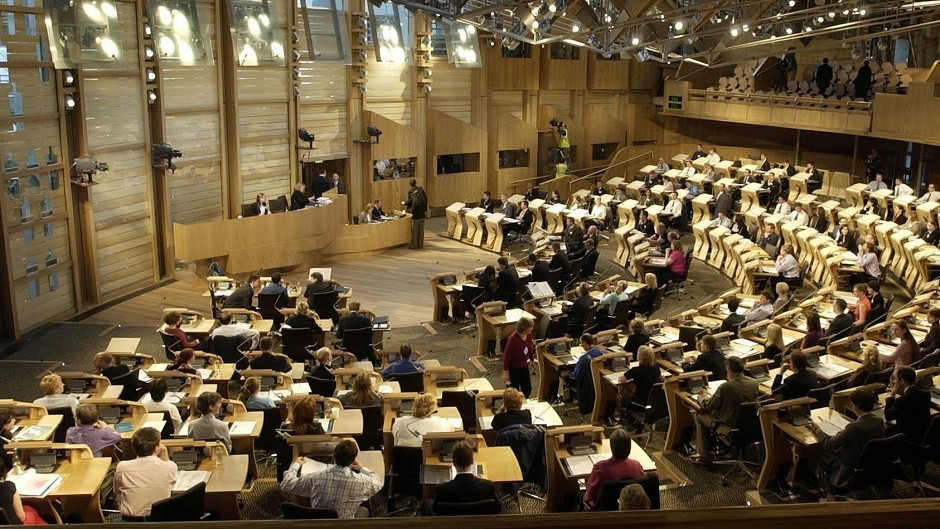Scottish Parliament is being urged to hold debate on oil crisis.