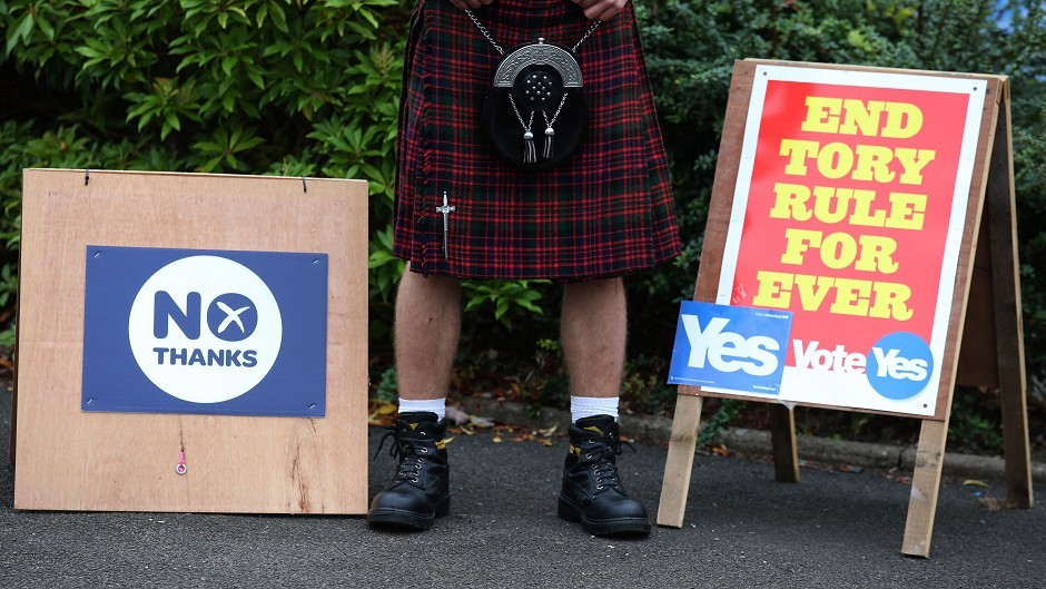 New poll shows rise in support for independence