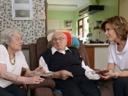 Sir Nicholas Winton pictured on his 105th birthday