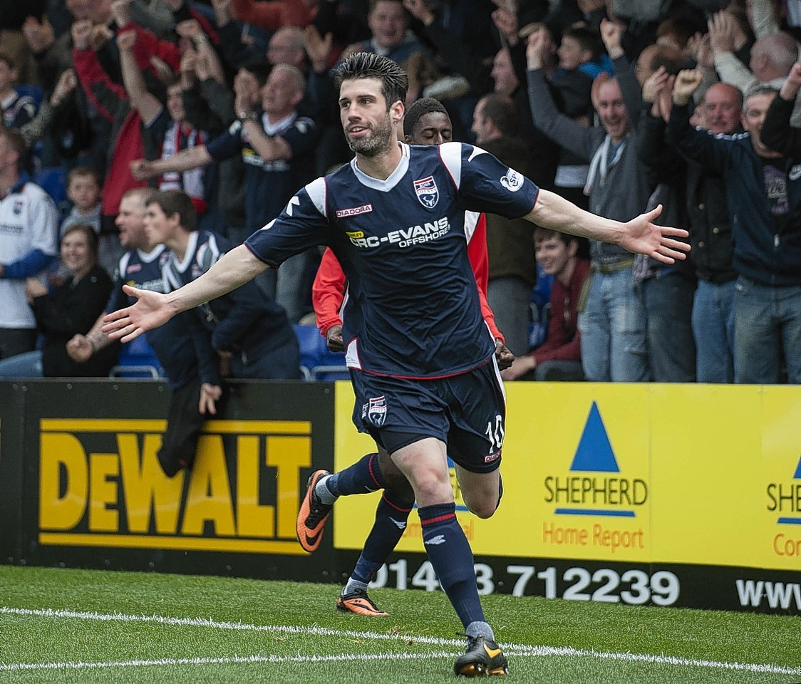 Rocco Quinn found starting opportunities limited with Ross County.