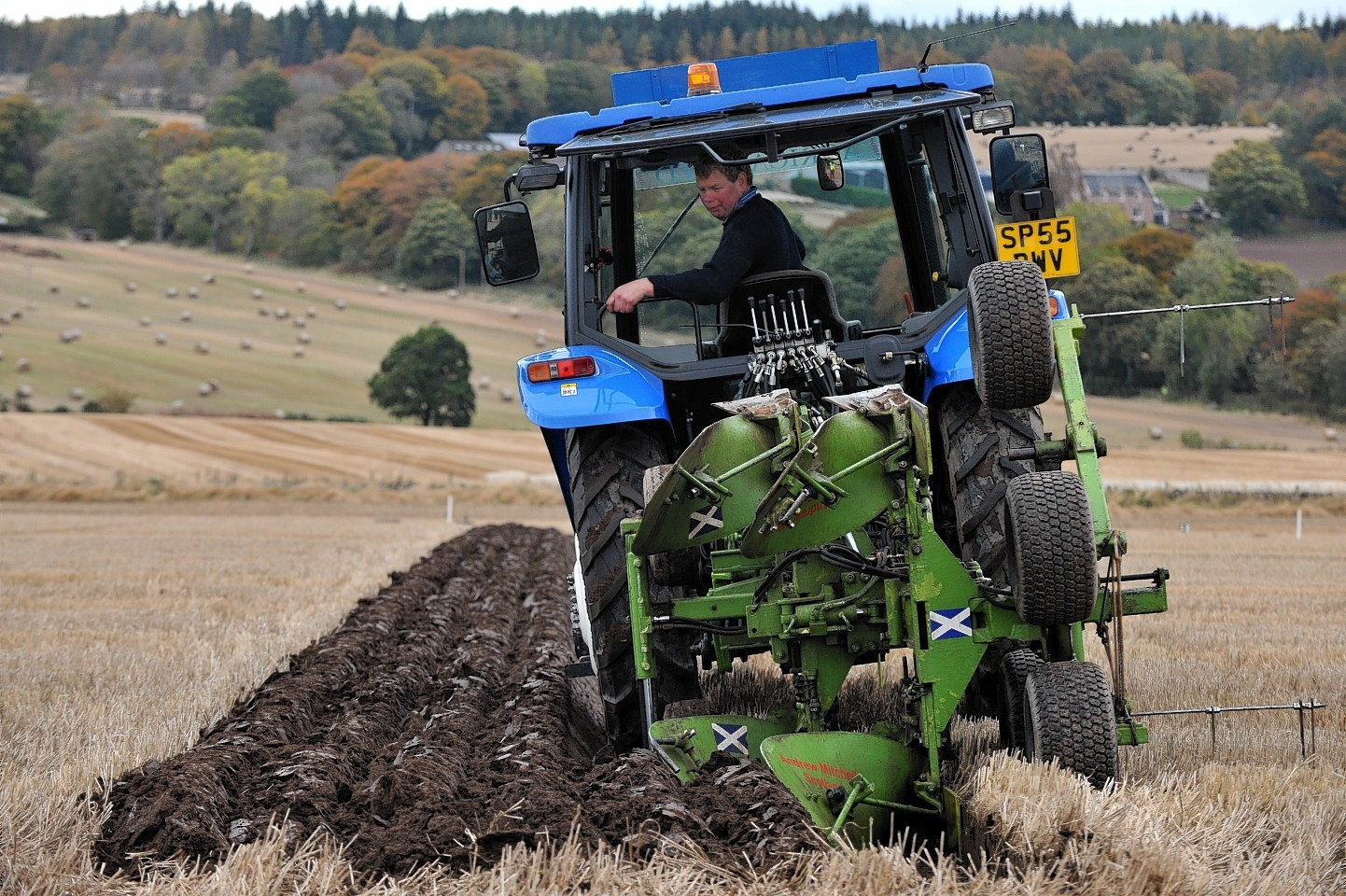 Preparations are under way for the Scottish Ploughing Championships