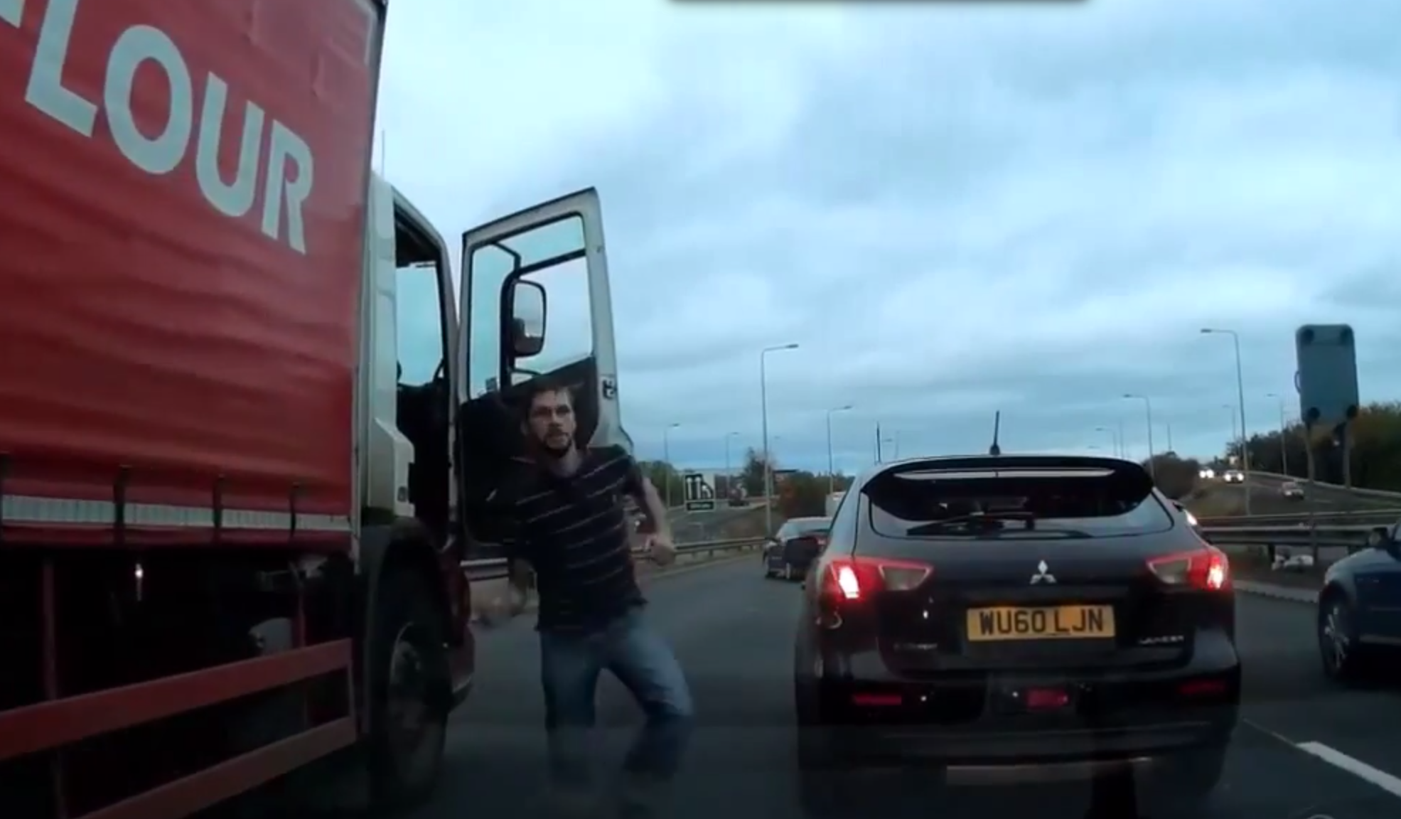 The incident on the Forth Road Bridge