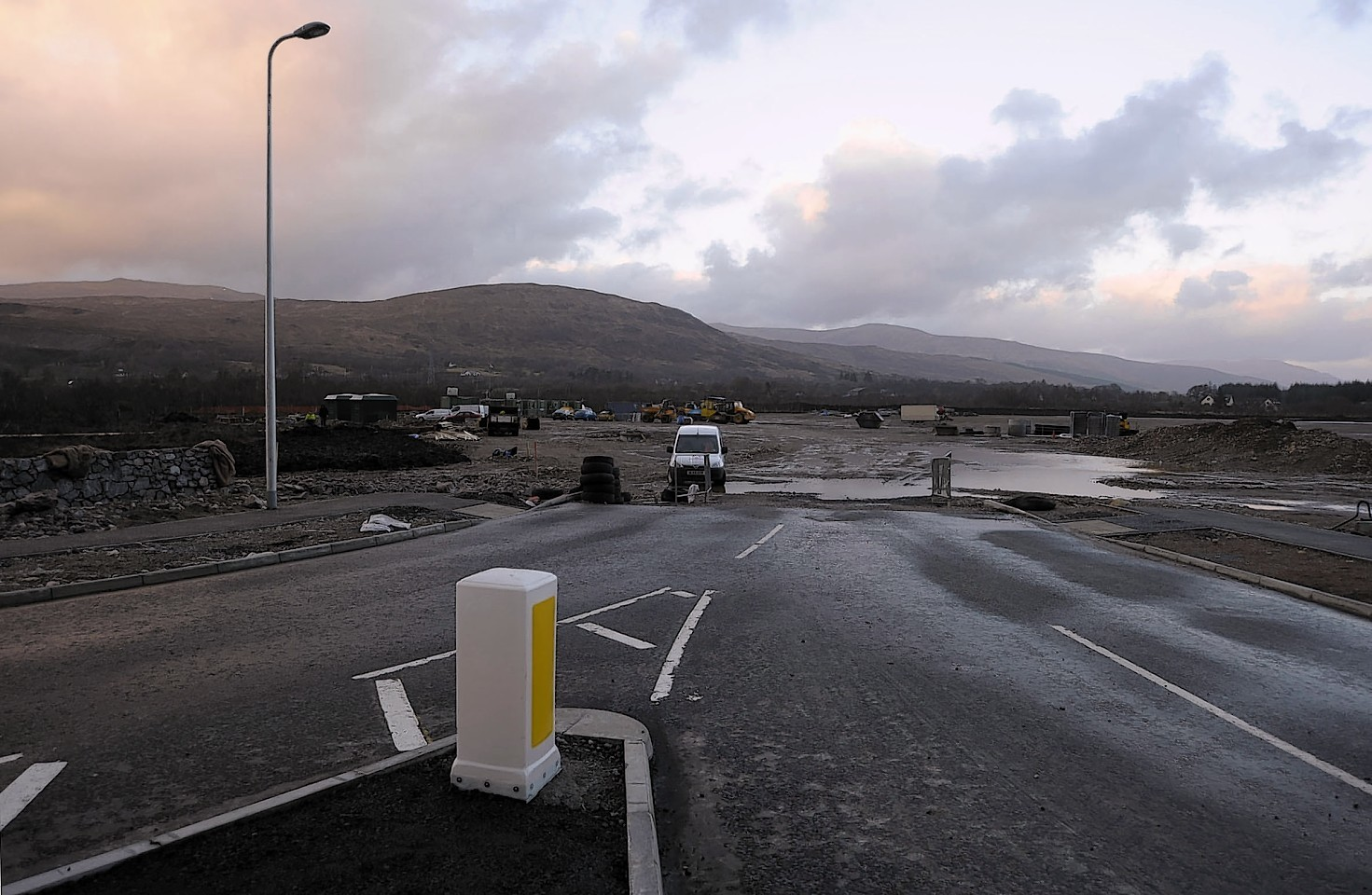 The Tesco-owned Blar Mhor site in Fort William