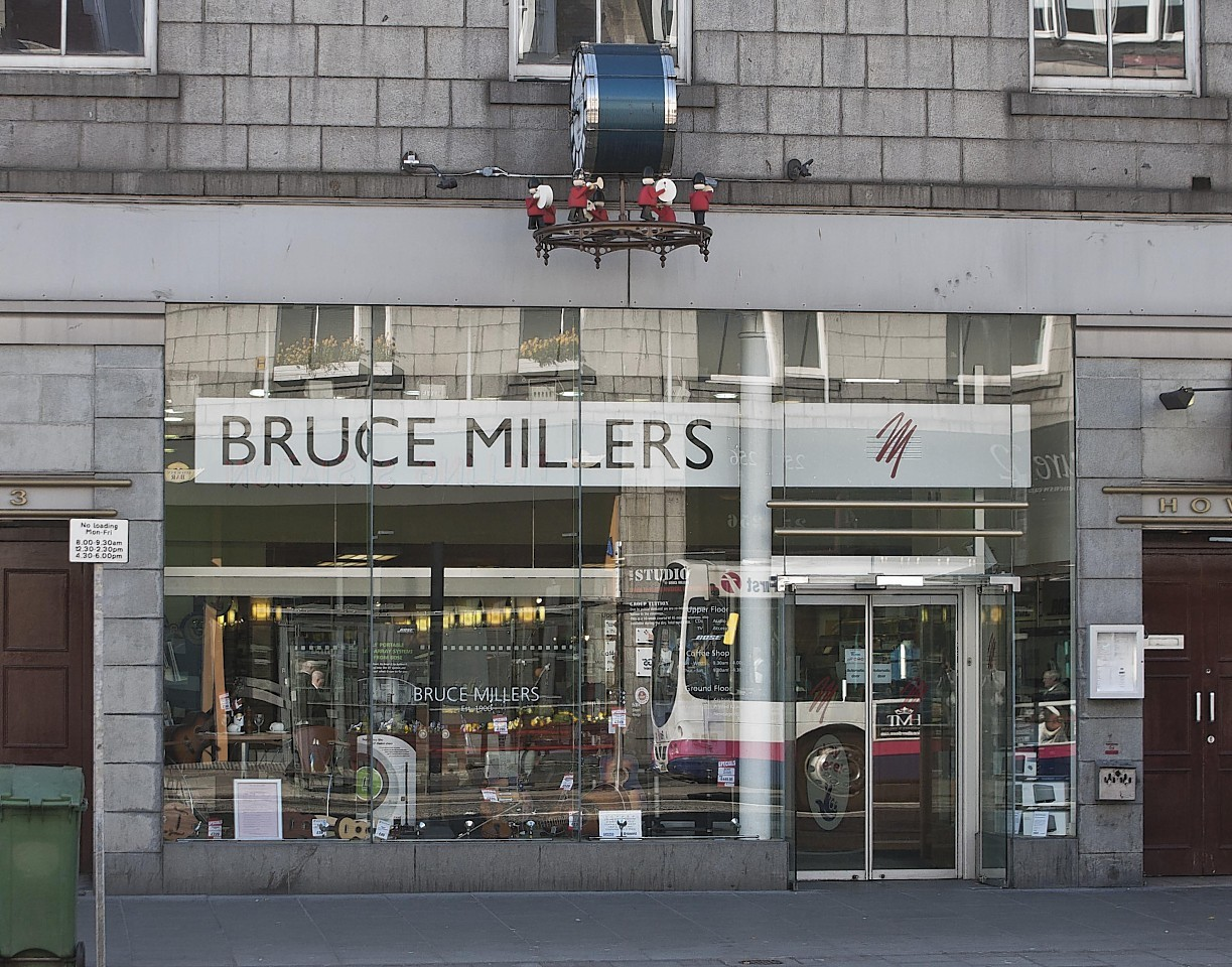 Bruce Millers closed down several years ago
