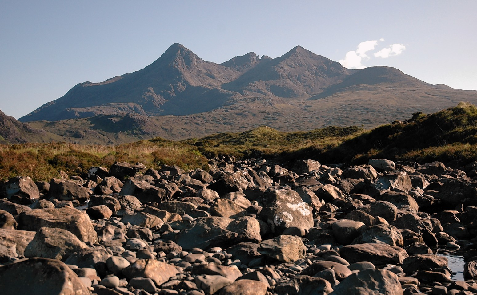 The Cuillin range