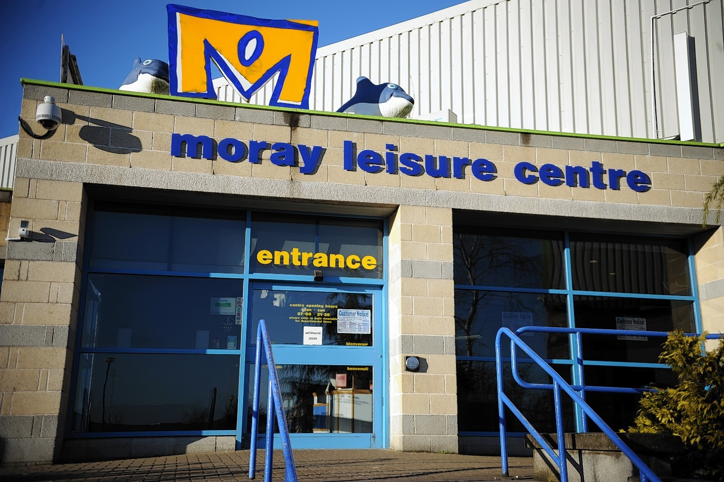 Moray Leisure Centre.