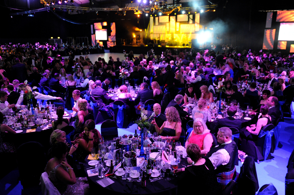 Energy Ball 2014, at Aberdeen Exhibition and Conference Centre (AECC).