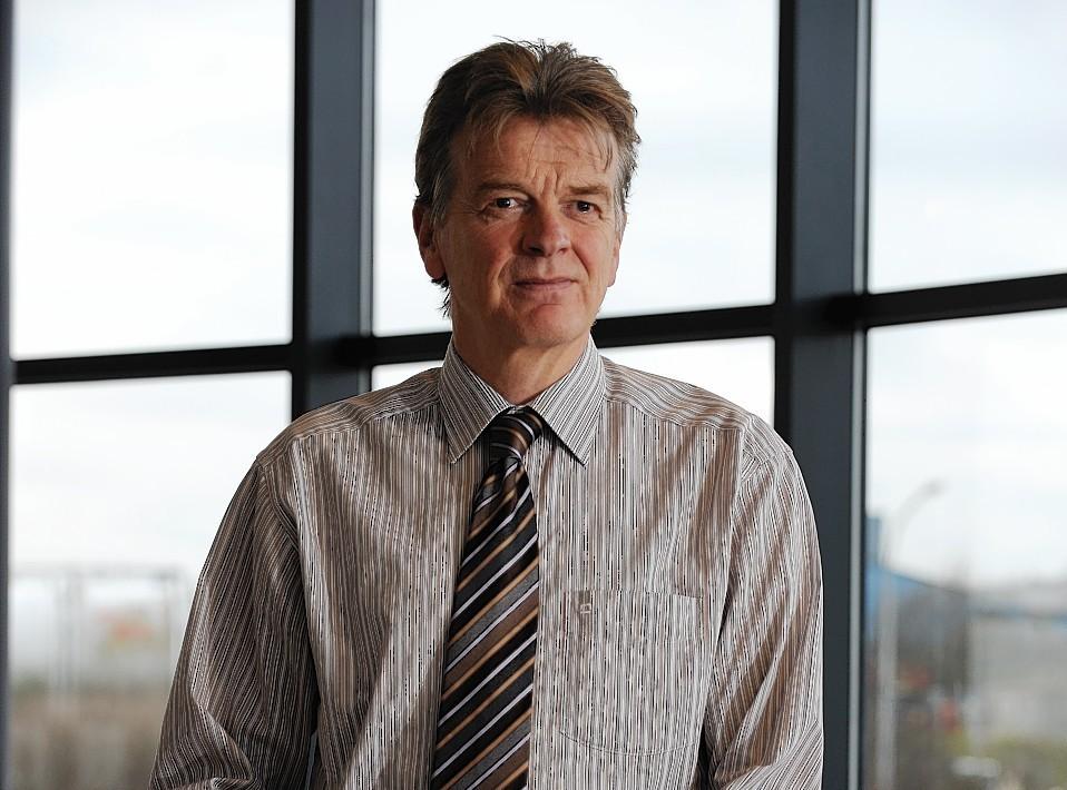 Former NHS Grampian medical director Roelf Djikhuizen