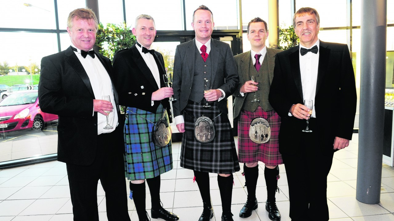 Alan Duguid, Roger Esson, David Jappy, Willie Tulloch and Simon Frost