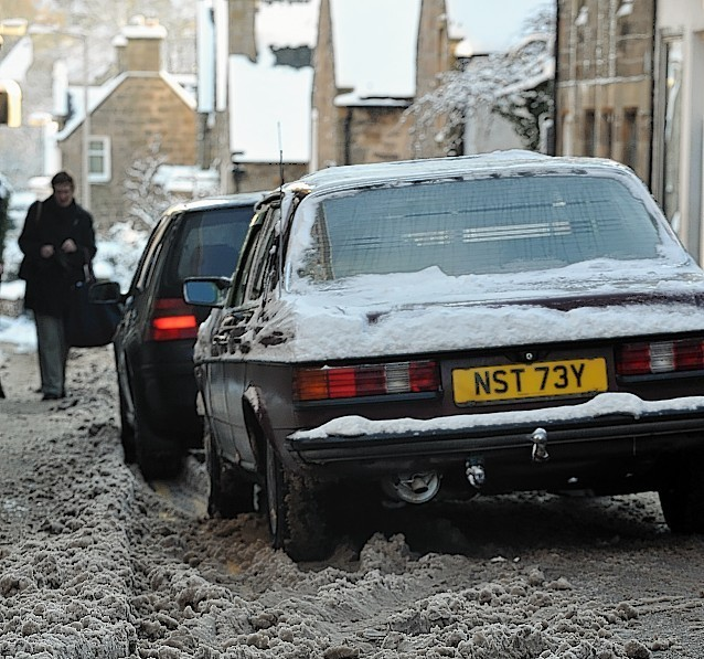 Snow brought chaos to north-east roads