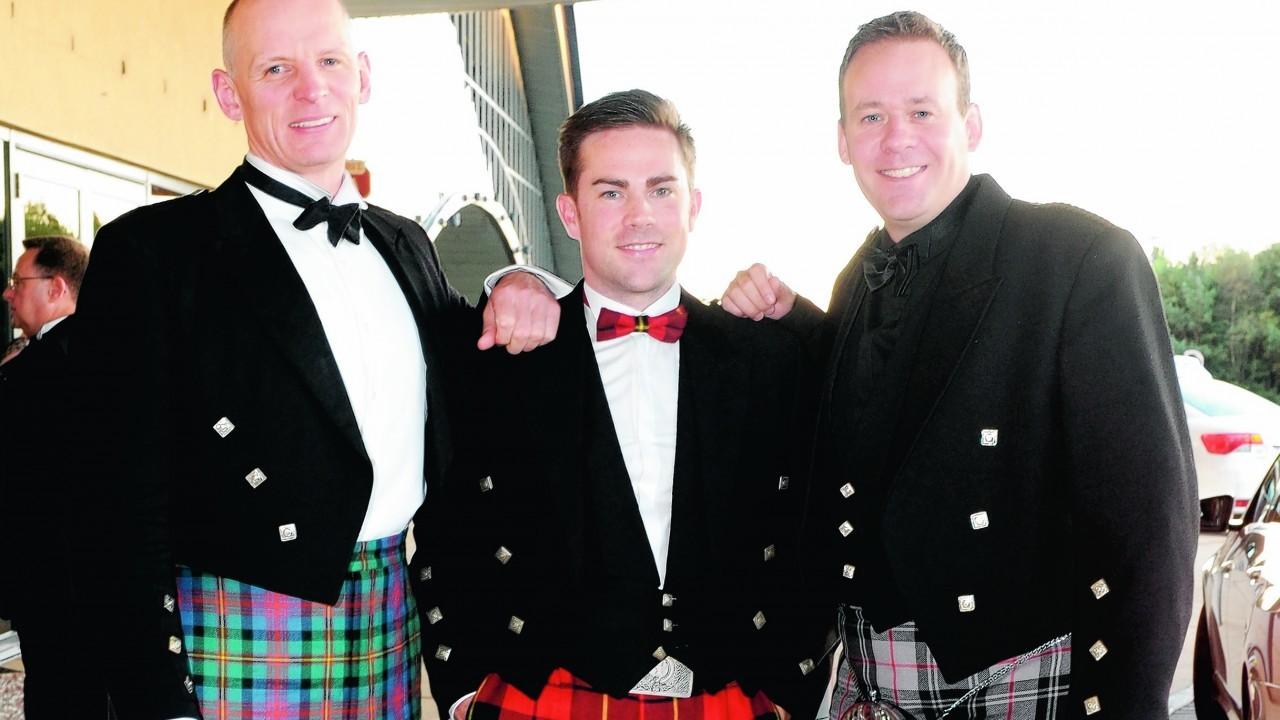 Guy Logun, Craig Melville and John Moffat