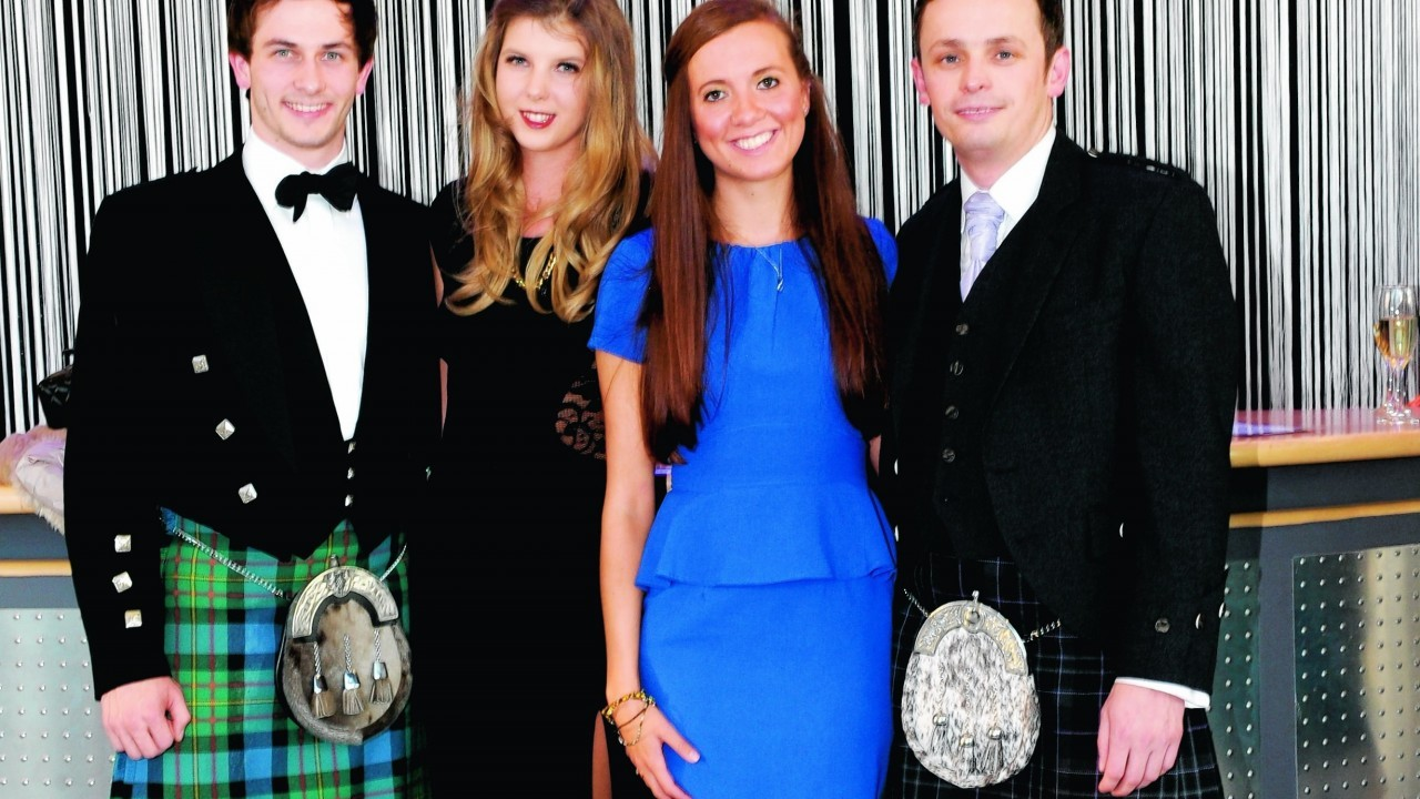 James Lawson, Kayleigh Robb, Shona Maclean and Robbie Jones