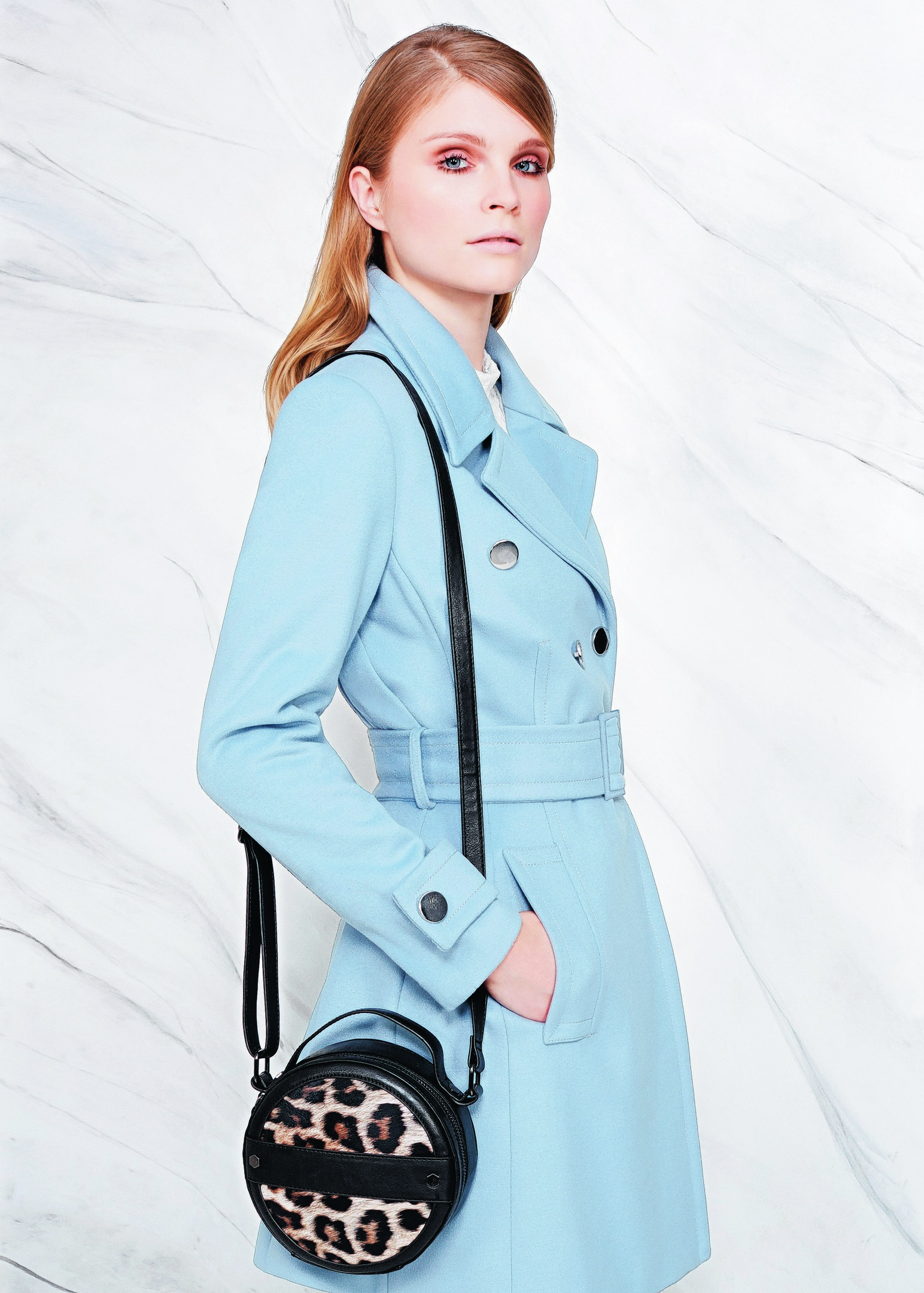 Per Una Double Breasted Belted Coat, £99, Marks and Spencer