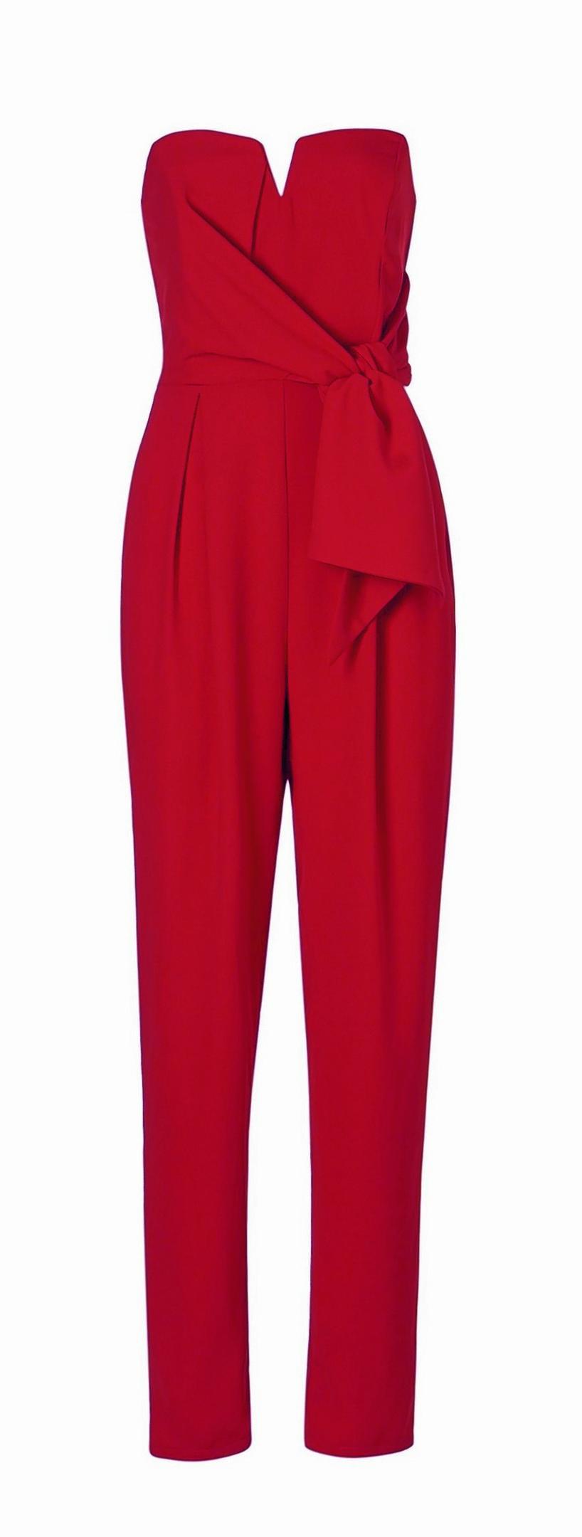 Asda red jumpsuit, £20