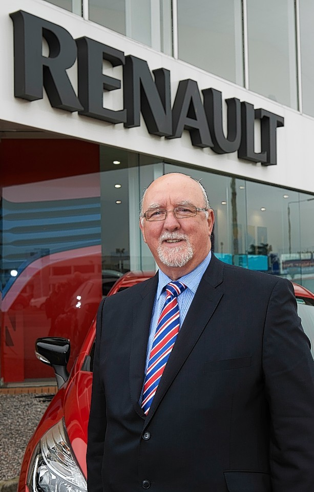 Previous owner Ness Motors owner Scott Lauder.