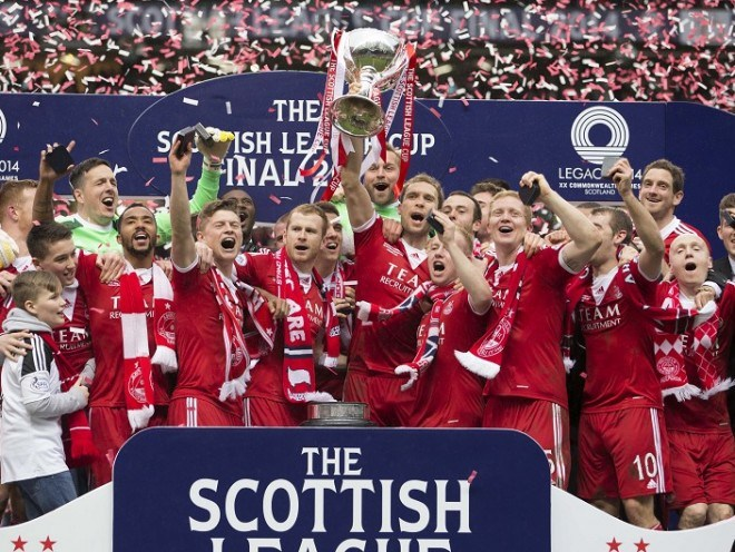 Aberdeen ended a 19-year wait for silverware at the 2014 League Cup.
