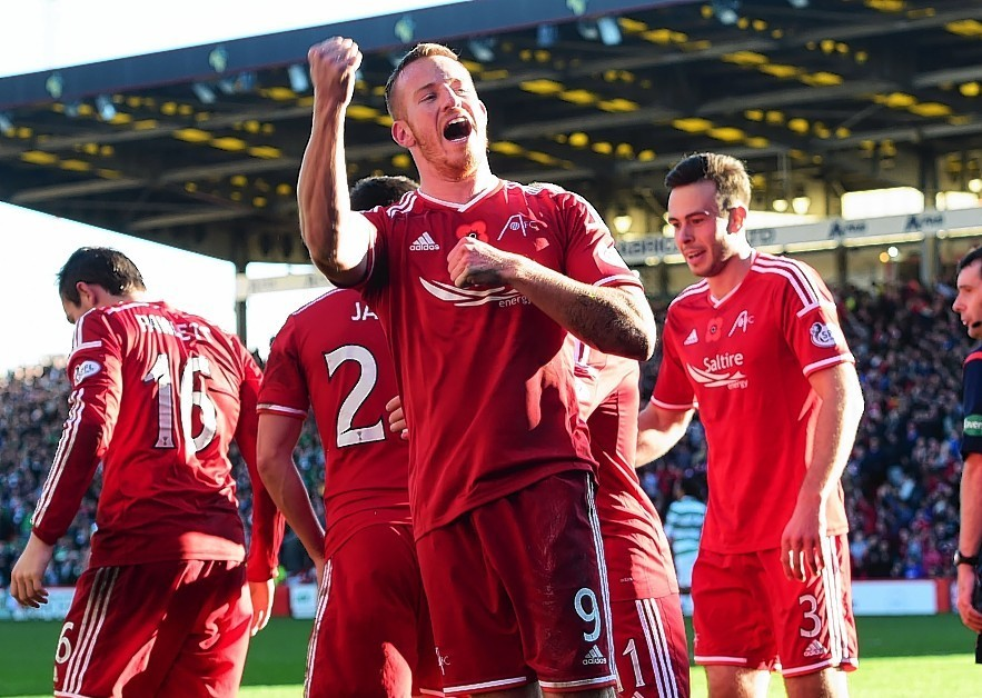 Adam Rooney has netted 17 goals this season