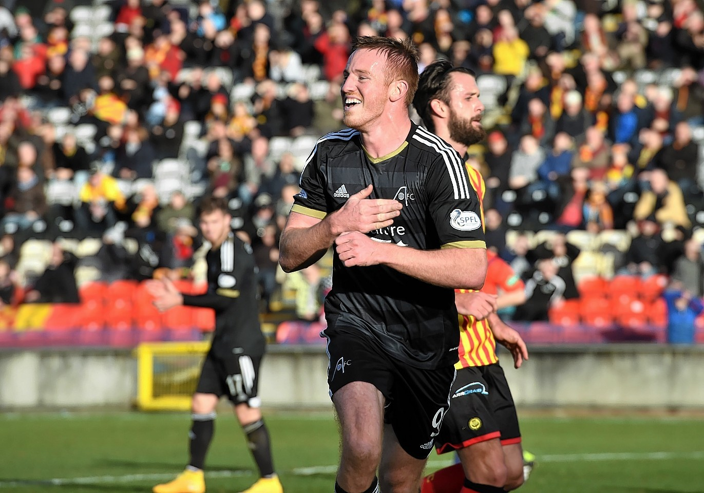 Adam Rooney joined the Dons at this time last season