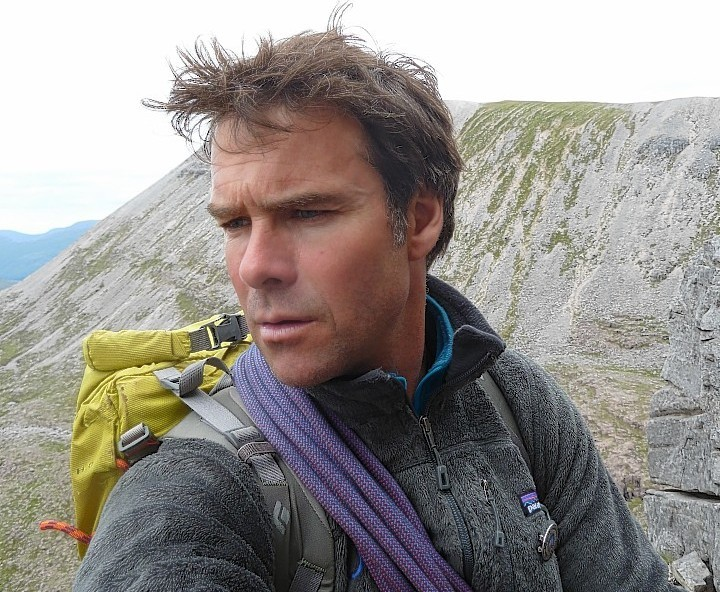 Andy Nelson, leader of Glencoe Mountain Rescue Team.