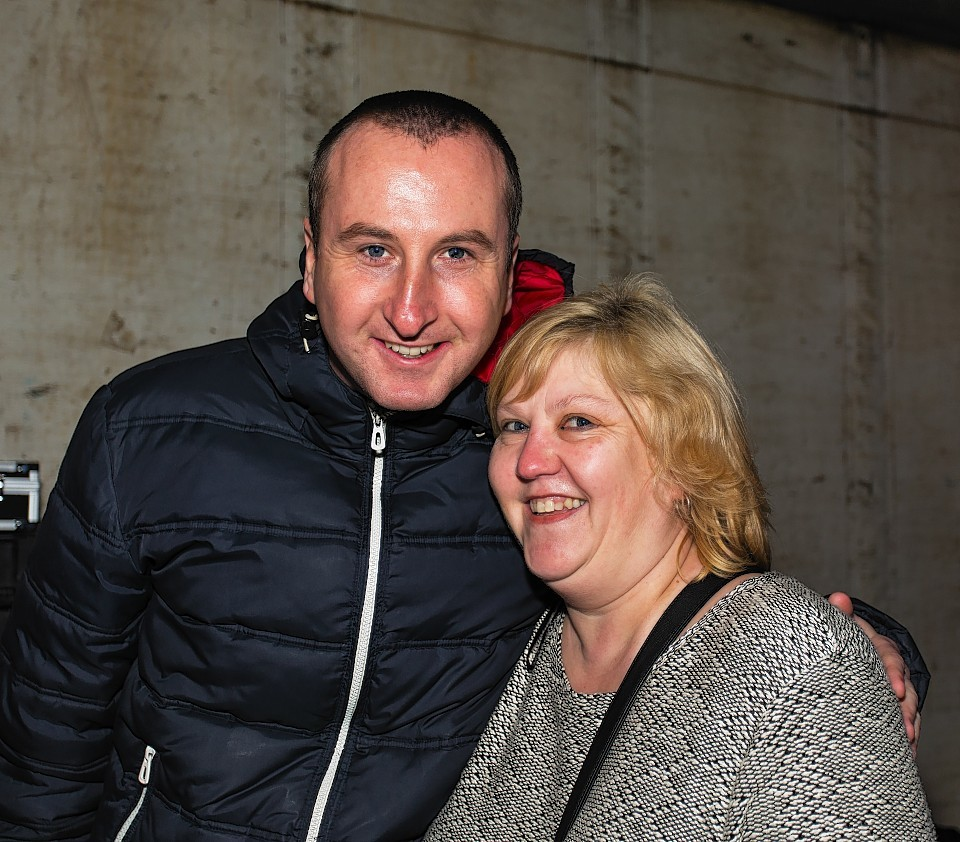 Andy Whyment added to the Buckie celebrations.