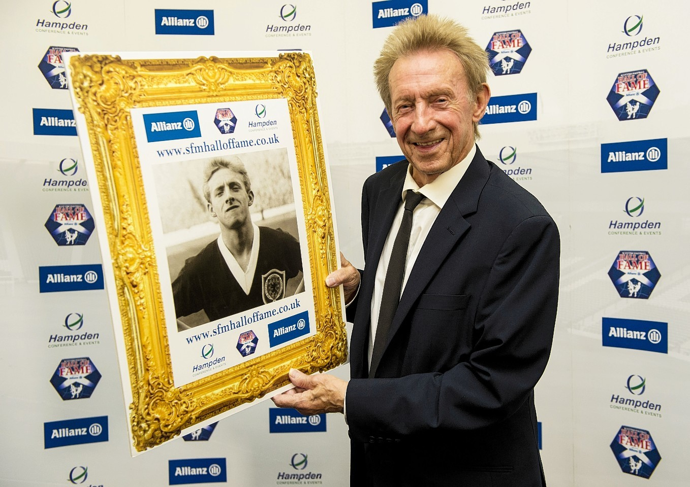 Denis Law was recently inducted into the Scotland Hall of Fame