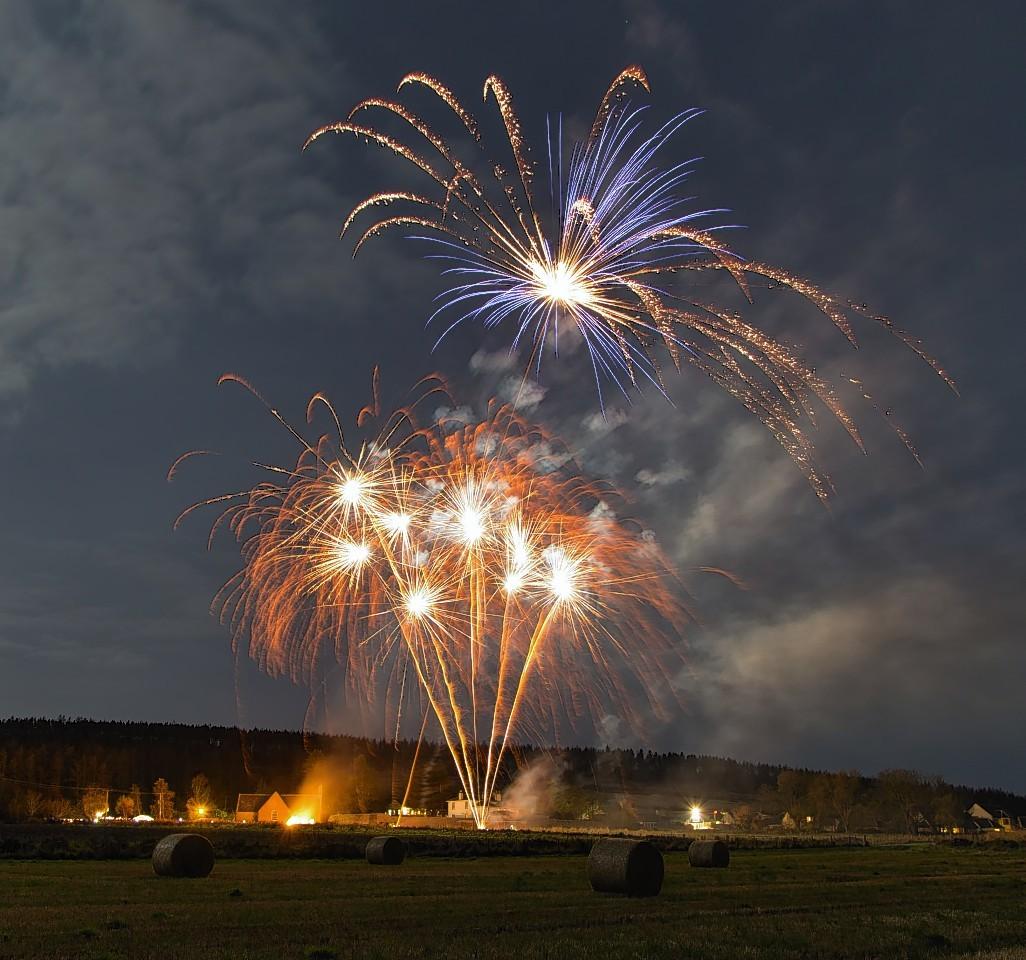 The Elgin fireworks